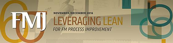 FMJ November/December 2016: Strategic Planning