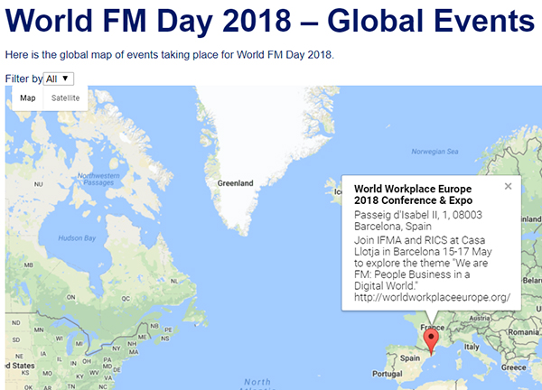 World FM Day 2018 Events Map