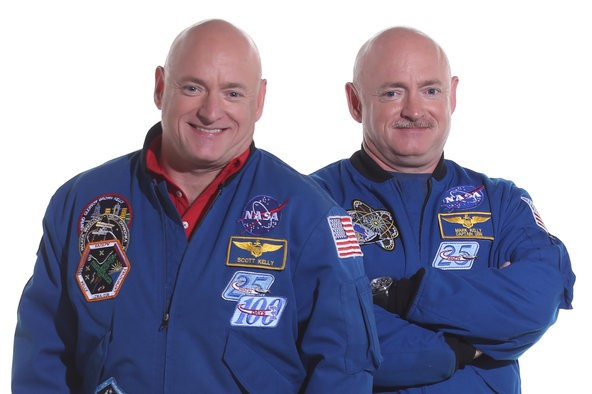 Captains Mark & Scott Kelly