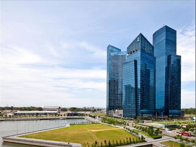 Marina Bay Financial Centre Facade copy
